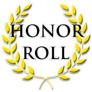 quarter 2 honor roll bishop england high school rh behs com Honor Roll Scroll Honor Roll Symbol